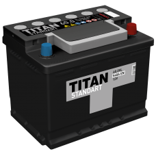 Аккумулятор TITAN STANDART 6СТ-60.0 VL о.п.  (540А)