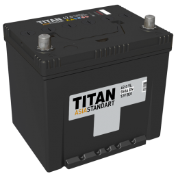 Аккумулятор TITAN ASIA STANDART 6СТ-62.0 VL о.п.  (520А)