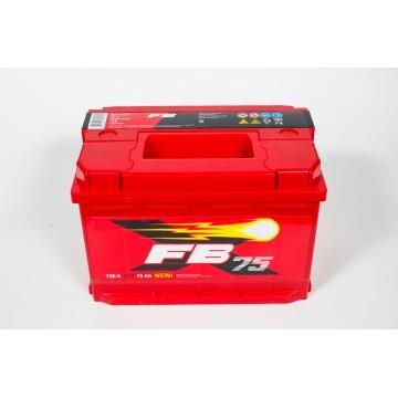 Аккумулятор FB 6СТ-75 о.п.
