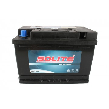 Аккумулятор SOLITE EFB 6СТ-72 о.п. (EFB 72)