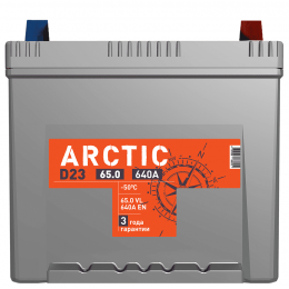 Аккумулятор ARCTIC ASIA 6СТ-65.0 VL B01