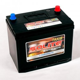 Аккумулятор SOLITE TAXI 80R, емкость 80 п.п.